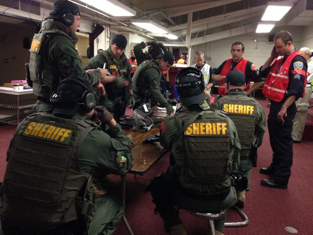 Marin County Cops in SWAT gear