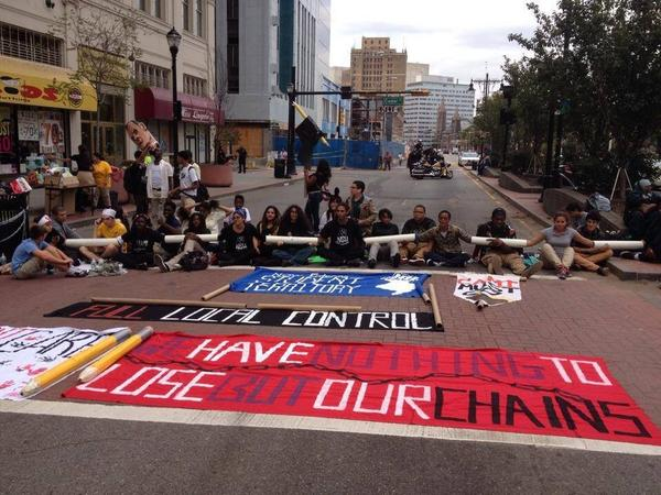 Newark students 'We have noth to lose but out chains'