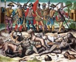 Columbus and other Spanish conquistidors fed live natives to their dogs.