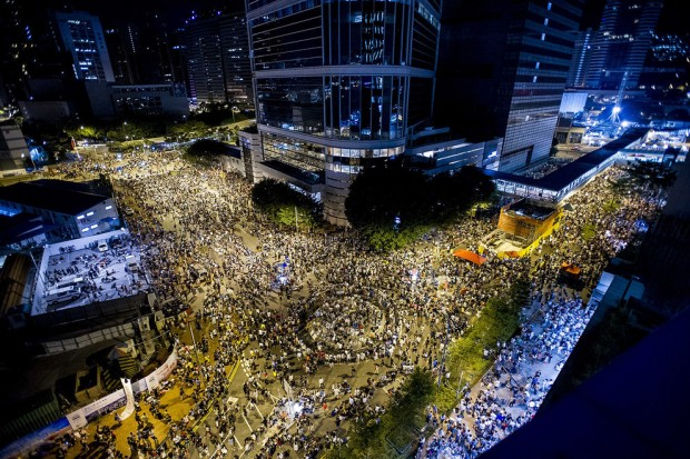 Hong Kong proteest by AFP-Getty.