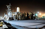 IDF Naval Forces prepare to intercept the 2010 Gaza Freedom Flotilla on May 29, 2010. (Photo: SSgt. Michael Shvadron, IDF Spokesperson's Unit)