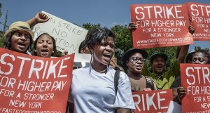 Minimum Wage fast food forward strike