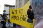 Nuclear energy protest No To Nuclear