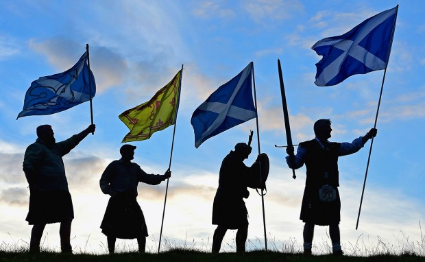 Image: ***BESTPIX*** Scottish Referendum Campaigning Enters The Final Stages