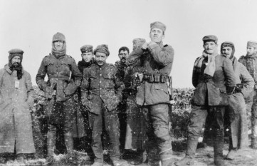"Christmas Truce German soldiers were the first to emerge from their trenches and approach Allied lines, calling out ""Merry Christmas"" in English."