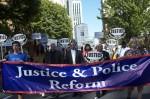 Police abuse protest in Portland Oregon on September 24, 2014. By  joyofresistance, Portland IndyMedia