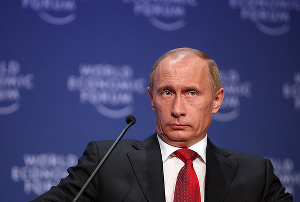 Vladimir Putin at the World Economic Forum Annual Meeting- Davos, 2009. (Photo: World Economic Forum)