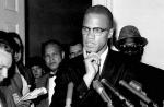 Malcolm X in 1963. AP