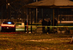 """The Cleveland dispatcher who sent police to Cudell Commons on Nov. 22 to respond to """"a male threatening with a gun"""" has no serious discipline during her four years in Cleveland, her personnel file showed. Those officers fatally shot and killed 12-year-old Tamir Rice, who was carrying an airsoft-type gun with the orange tip removed. (Cory Shaffer, Northeast Ohio Media Group)"""