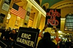 Eric Garner All Blood is Red protest NYC by Waging Nonviolence