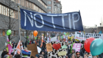 At an anti-TTIP demonstration in Berlin last month. (Photo: Uwe Hiksch/flickr/cc)