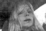 U.S. Army Post rivate First Class Chelsea Manning, the U.S. soldier convicted of giving classified state documents to WikiLeaks, is pictured dressed as a woman in this 2010 handout photograph obtained from the U.S. Army August 14, 2013. The U.S. military is considering options for the detention of the transgender soldier who is serving 35 years in prison for turning over secret files to WikiLeaks and has requested hormone therapy, including moving the private to a civilian prison, the Pentagon said May 14, 2014. (REUTERS/U.S. Army/Handout)