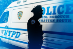 Photo illustration by Slate. Photo by Spencer Platt/Getty Images. The Legal Aid Society's database already contains information about accusations of wrongdoing against some 3,000 NYPD officers, and is being used regularly by its lawyers.