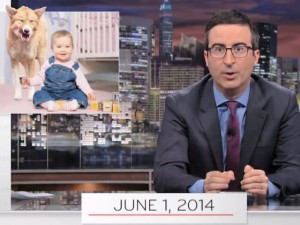 John Oliver's epic monologue on Tom Wheeler and net neutrality shown on HBO.