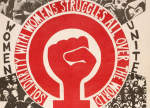Marking International Womens Day 1975, the feminist magazine Spare Rib reported: '4,000 women marched through London's East End.' Photograph: Red Women's Workshop Red Women's Workshop/Public Domain