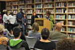 """Photo: Antioch community reading of """"The Case for Reparations"""""""
