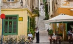 The centre of the old town of Nafplio. The couple made calculations and said each German owed €875, the mayor said. Photograph by Alamy