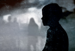(Image: Youth silhouette, blurred crowd via Shutterstock; Edited: JR/TO)