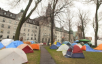 The new Occupy movement is up and running in Montreal. Photo by Matt Joycey