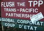 FLush the TPP coup d'etat sign