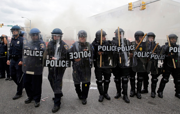 Photo: Baltimore Militarization. Patrick Semansky/AP