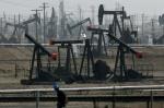 Chevron's Kern River oil field in California's Central Valley. CREDIT: AP