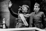 Rather than justice, Spain elected for collective amnesia to deal with the crimes of General Francisco Franco, seen here during the nationalist victory parade celebrating the end of the Spanish civil war on 20 May 1939. Public Domain.