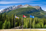The Continental Divide at the border of Alberta and British Columbia in Canada. Photo credit: Shutterstock