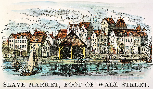 Image result for slave market wall street