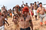 Amazonian tribe protests