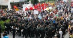 Police confront G-7 protesters in Germany June 6, 2015
