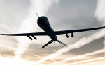 Drone strikes and extrajudicial killings are part of a larger system of permanent war that has existed for generations in the United States and shows no sign of abating. (Image: Predator drone via Shutterstock)