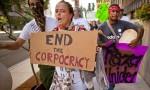 Occupy Wall Street protesters in Phoenix, Arizona. Photograph: KeystoneUSA/Rex Features