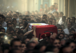 REUTERS/Mohamed Abd El GhanyRelatives of 21-year-old Mohamed Adel, one of the army officers who died in yesterday's Sinai attacks, carry his coffin during the funeral in Al-Kaliobeya, near Cairo, Egypt, July 2, 2015.