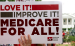 Just because the Republican Party pretends to hate the Affordable Care Act, that doesn't mean progressives should pretend it's a great law. 'Obamacare is a win for the 1 percent,' writes Kolhatkar, 'and a loss for the rest of us.' (Photo: National Nurses United/flickr/cc)