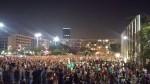 Israel anti-violence protest 8-15