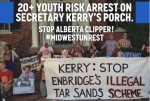 Midwest Unrest protests at John Kerry's House