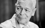 Photo of Julian Bond by Eduardo Montes-Bradley