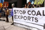 Stop Coal Exports protest