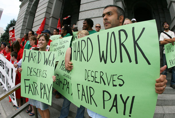 Income Hard Work Deserves Fair Pay