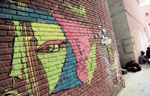 Protesting Students Occupy Delhi Art College With Graffiti