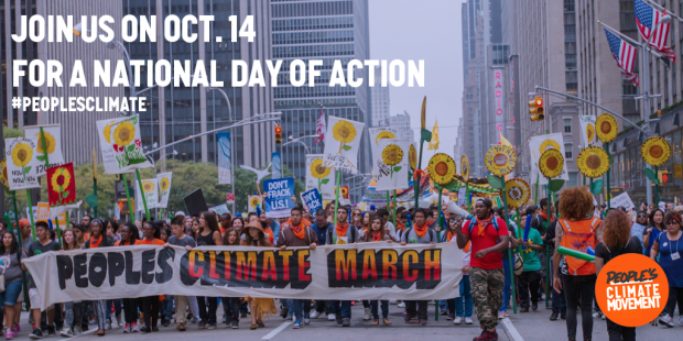People's Climate Action poster