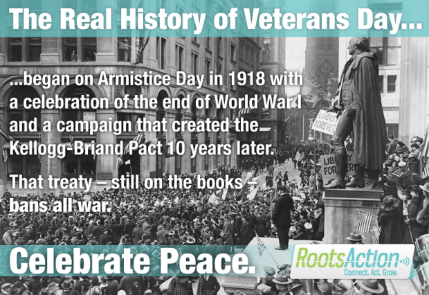 Armistice day real history