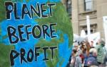 COP21 Greenpeace Climate Before Profit Globe