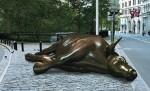 Wall Street dead bull