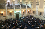 "On Monday February 8, 2016, as the evening session commenced for the Maryland House of Delegates, it began with Delegates making announcements and welcoming special guests. Part way through this, Del. Jill Carter asked the gathered legislators to welcome ""activists from across the state […] with Freedom2Boycott."" About 35 free speech activists stood up in the gallery and waved.  Freedom2Boycott is ""a coalition of groups and individuals"