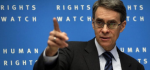 Executive director of Human Rights Watch Kenneth Roth. (photo: Reuters)