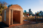 Tiny homes constructed by Denver Homeless Out Loud for those experiencing homelessness in Denver, Colorado. (Photo: Alais Clay)