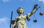 Lady Justice may not be blind after all. Lady Justice via www.shutterstock.com