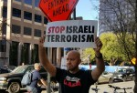 Stop Israeli Terrorism, outside SXSW Conference 3-20-16 in Texas